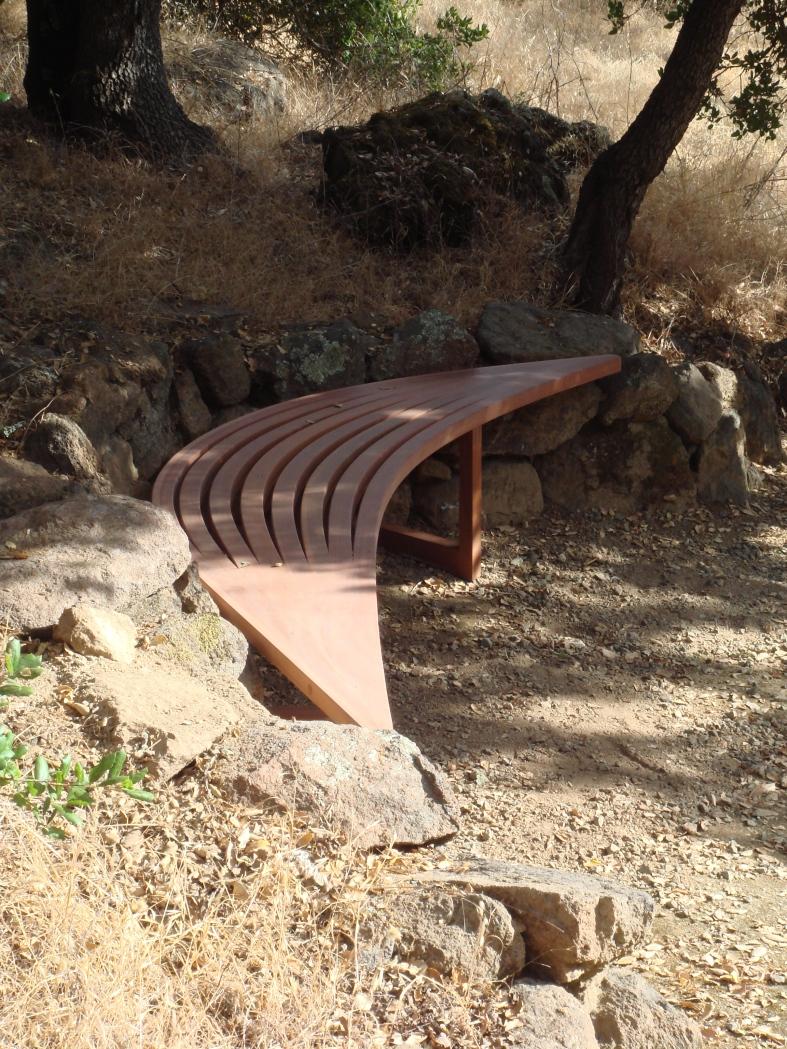 Gormley bench