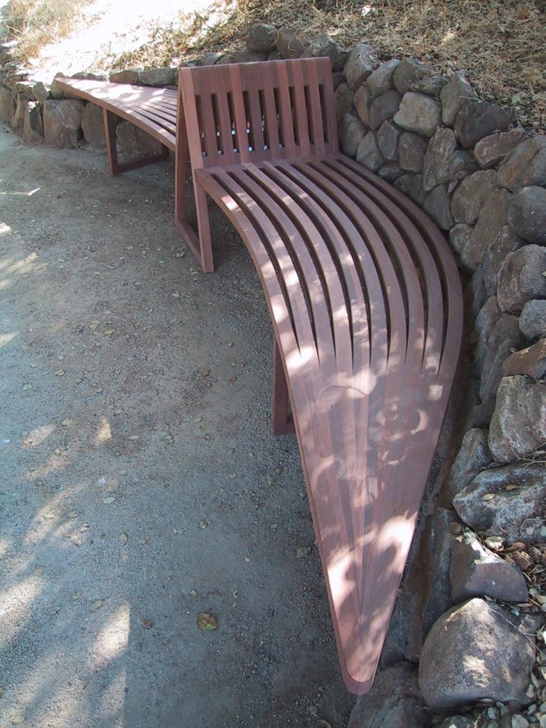 Abakonowicz bench