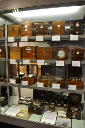 Historic marine chronometers from all around the world