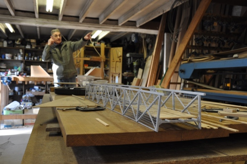 Richard and the Frome bridge model