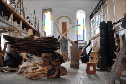 Inside the church - an ongoing ever changing retrospective