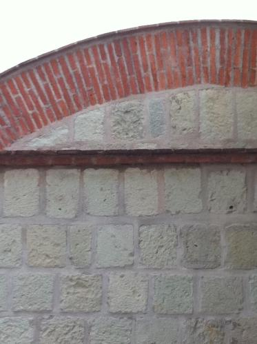 Upper walls of the Museo de las Culturas de Oaxaca