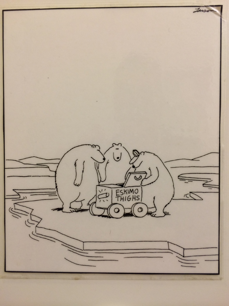From Prof. Larsen's treatise on Polar Bear behavior.
