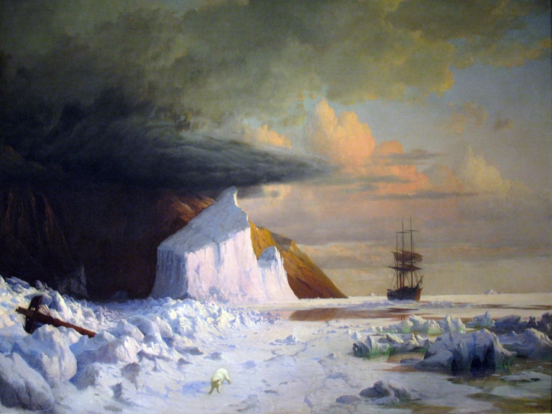 An Arctic Summer: Boring Through the Pack in Melville Bay William Bradford, 1871