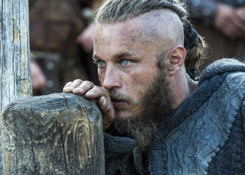 Ragnar Lodbrok as played by the hunk Travis Fimmel on the History channel's fab series Vikings
