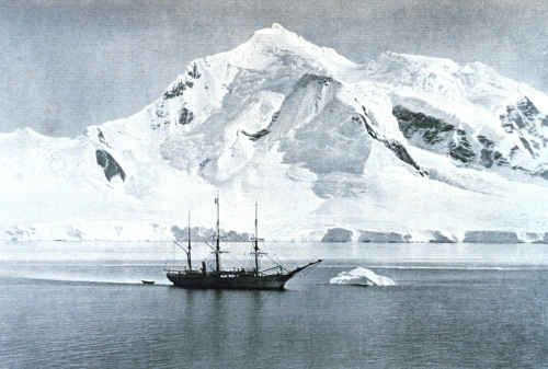 The Belgica anchored at Mount William.