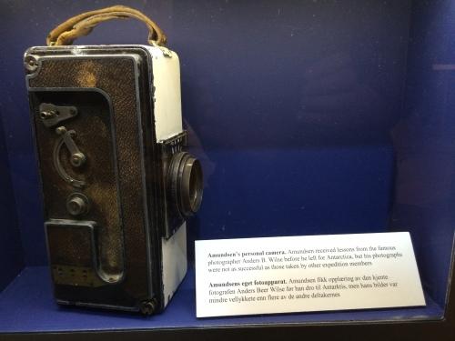 Amundsen's personal camera