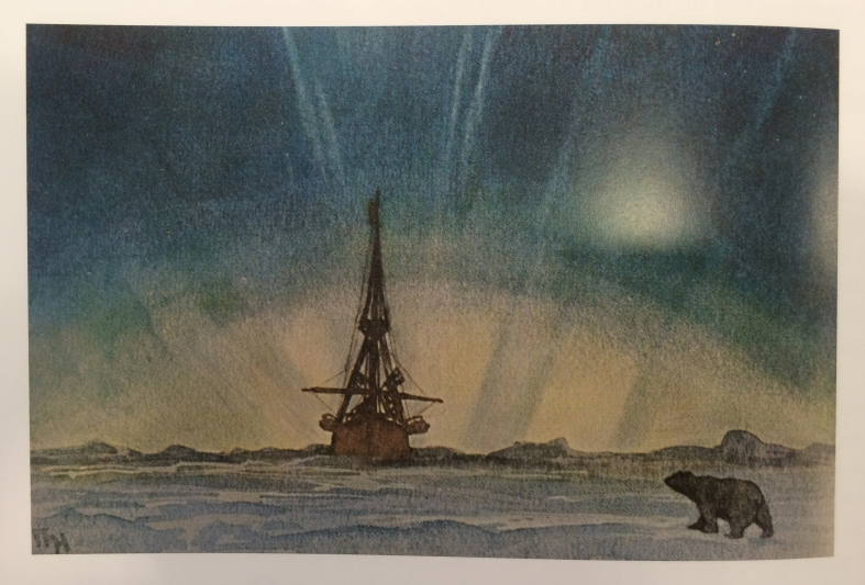 Thorof Holmboe, 1915 Offset lithograph postcard.