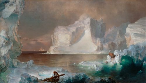The Icebergs  Frederic Edwin Church, 1861